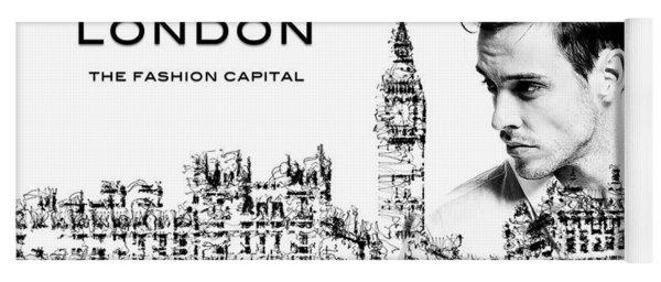 London The Fashion Capital Yoga Mat