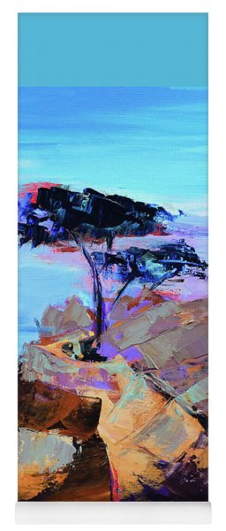 Lone Cypress - California Yoga Mat