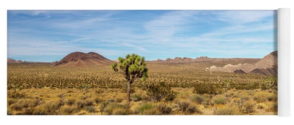 Lone Joshua Tree - Pleasant Valley Yoga Mat