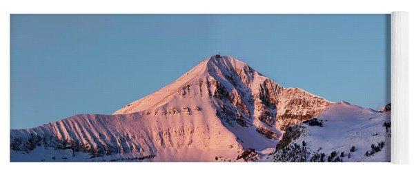 Lone Mountain Alpenglow Panoroama Yoga Mat