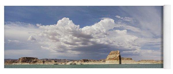 Lone Rock Landscape Yoga Mat