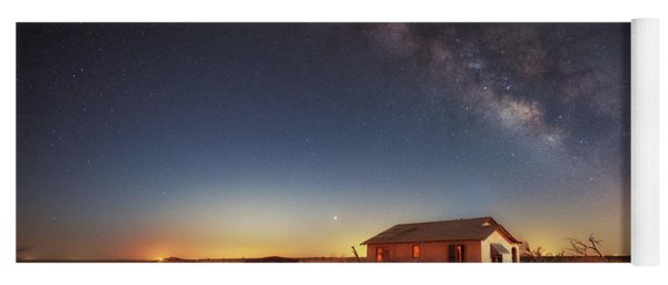 Yoga Mat featuring the photograph Lone Star by Russell Pugh