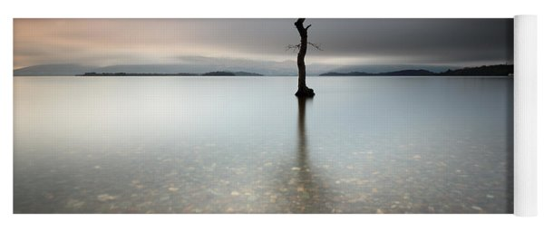 Lone Tree Loch Lomond Yoga Mat