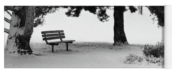 Lonely Park Bench Yoga Mat