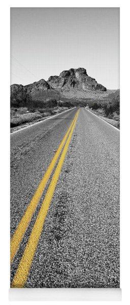 Lonely Road Yoga Mat