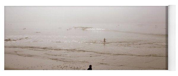 Lonely Surfer Yoga Mat