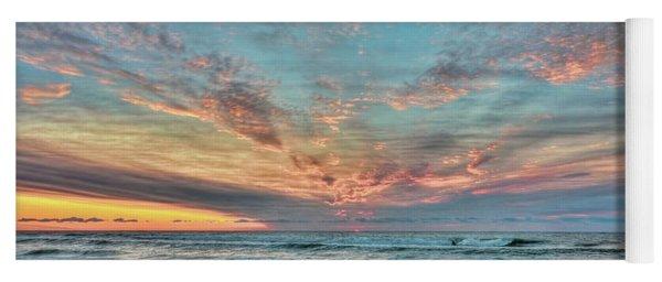 Long Beach Island Sunrise Yoga Mat