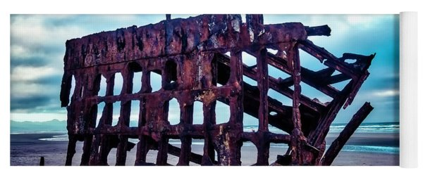 Long Forgotten Shipwreck Yoga Mat