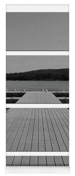 Long Lake Dock Yoga Mat