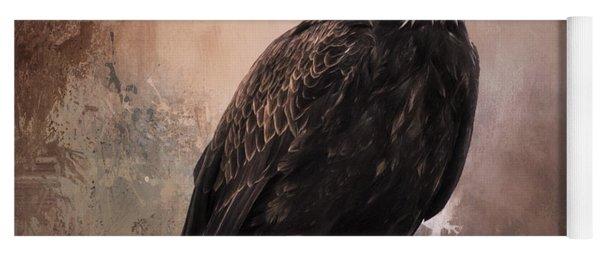 Looking Forward - Eagle Art Yoga Mat