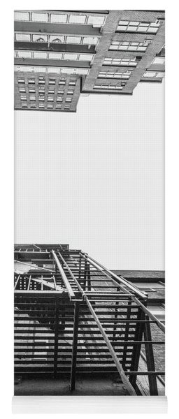 Looking Up Fire Escape Nyc 1 Yoga Mat