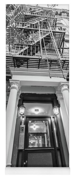 Looking Up Fire Escape Nyc 5 Yoga Mat