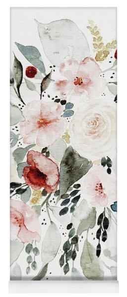 Loose Florals Yoga Mat