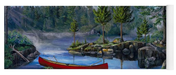 Lost In The Boundary Waters Yoga Mat