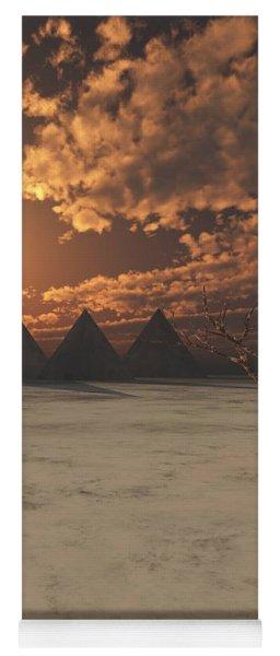 Lost Pyramids Yoga Mat
