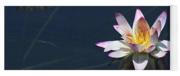 Lotus And Reflection Yoga Mat