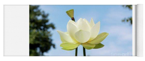 Lotus Debbie Gibson Flower Yoga Mat