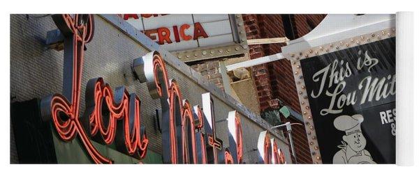 Lou Mitchells Restaurant And Bakery Chicago Yoga Mat