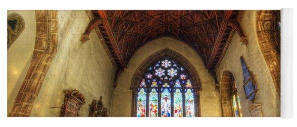 Loughborough Church - Altar Vertorama Yoga Mat