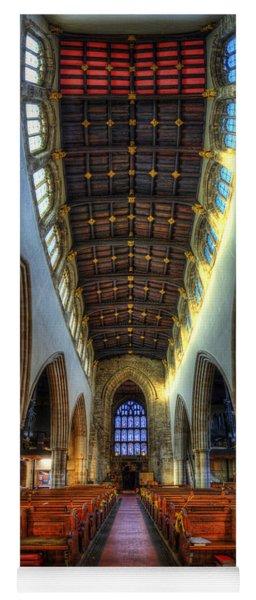 Loughborough Church - Nave Vertorama Yoga Mat