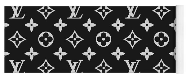 Louis Vuitton Pattern - Lv Pattern 06 - Fashion And Lifestyle Yoga Mat