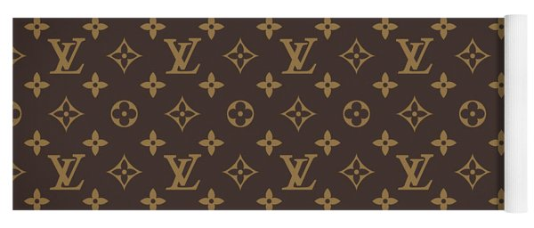 Louis Vuitton Texture Yoga Mat