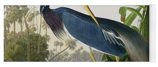 Louisiana Heron Yoga Mat