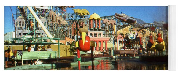 Louisiana Worlds Fair 1984 - New Orleans Photo Art Yoga Mat