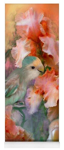 Love Among The Irises Yoga Mat
