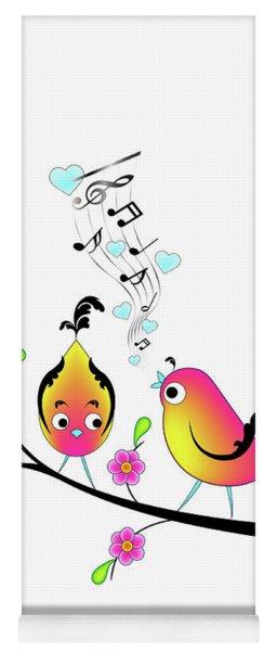 Love Bird Serenade Yoga Mat