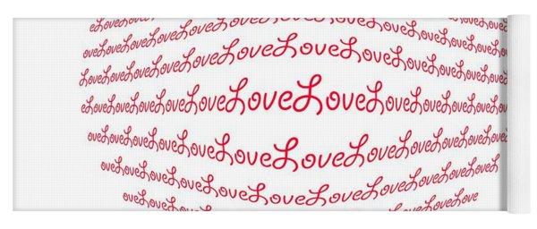 Love Boom Yoga Mat
