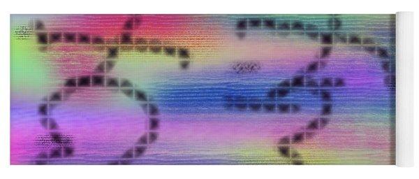 Love Colors Yoga Mat