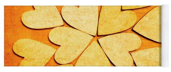 Love Interlinked Yoga Mat