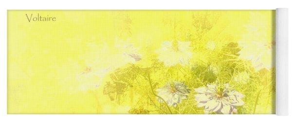 Love Is A Canvas - Nigella Damascena Yoga Mat