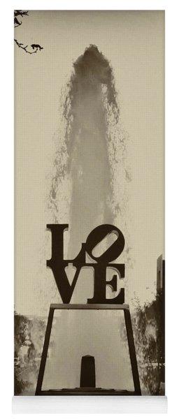 Love Love Love Yoga Mat