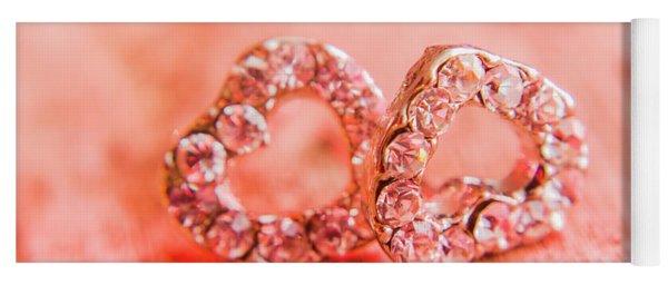 Love Of Crystals Yoga Mat