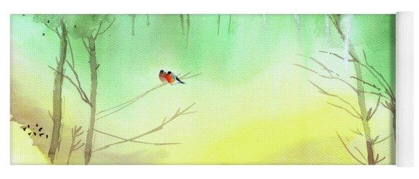 Lovebirds 3 Yoga Mat