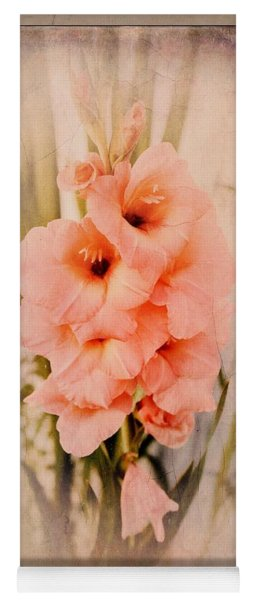 Lovely Gladiolus Yoga Mat