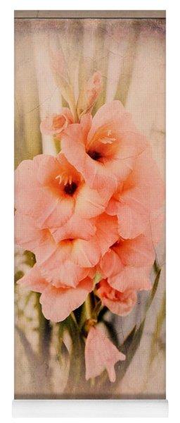 Lovely Gladiolus Yoga Mat