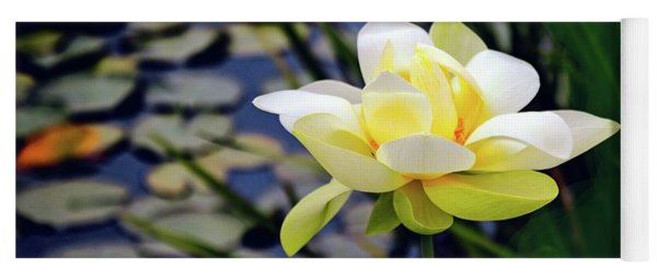 Lovely Lotus Yoga Mat
