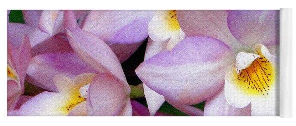 Lovely Orchid Family Yoga Mat