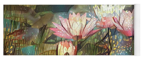 Lovely Waterlilies 7 Yoga Mat