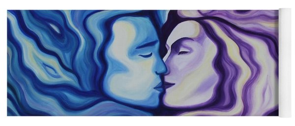 Lovers In Eternal Kiss Yoga Mat