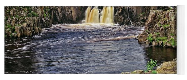 Low Force Waterfall, Teesdale, North Pennines Yoga Mat