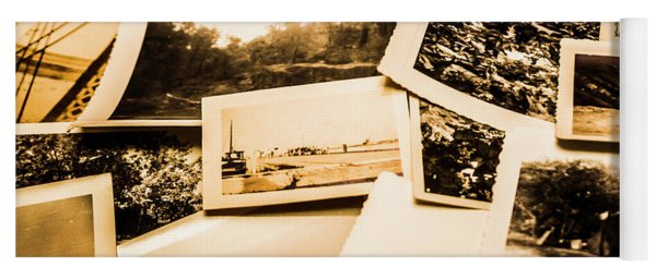 Lowdown On A Vintage Photo Collections Yoga Mat