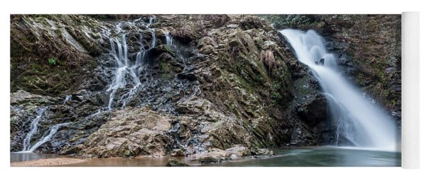 Lower Brasstown Falls Yoga Mat