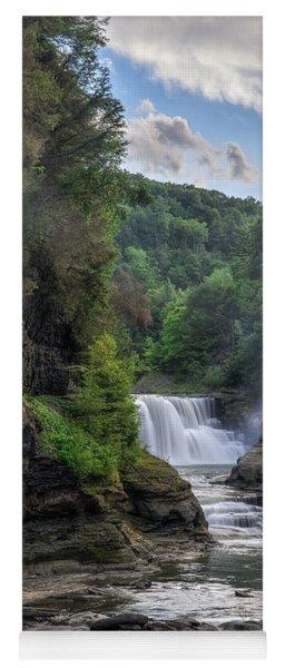Lower Falls - Summer Yoga Mat