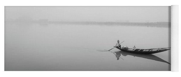 Lower Ganges - Misty Morinings Yoga Mat