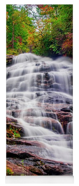 Lower Glen Falls Yoga Mat