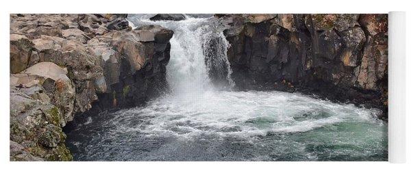 Lower Mccloud Falls Yoga Mat